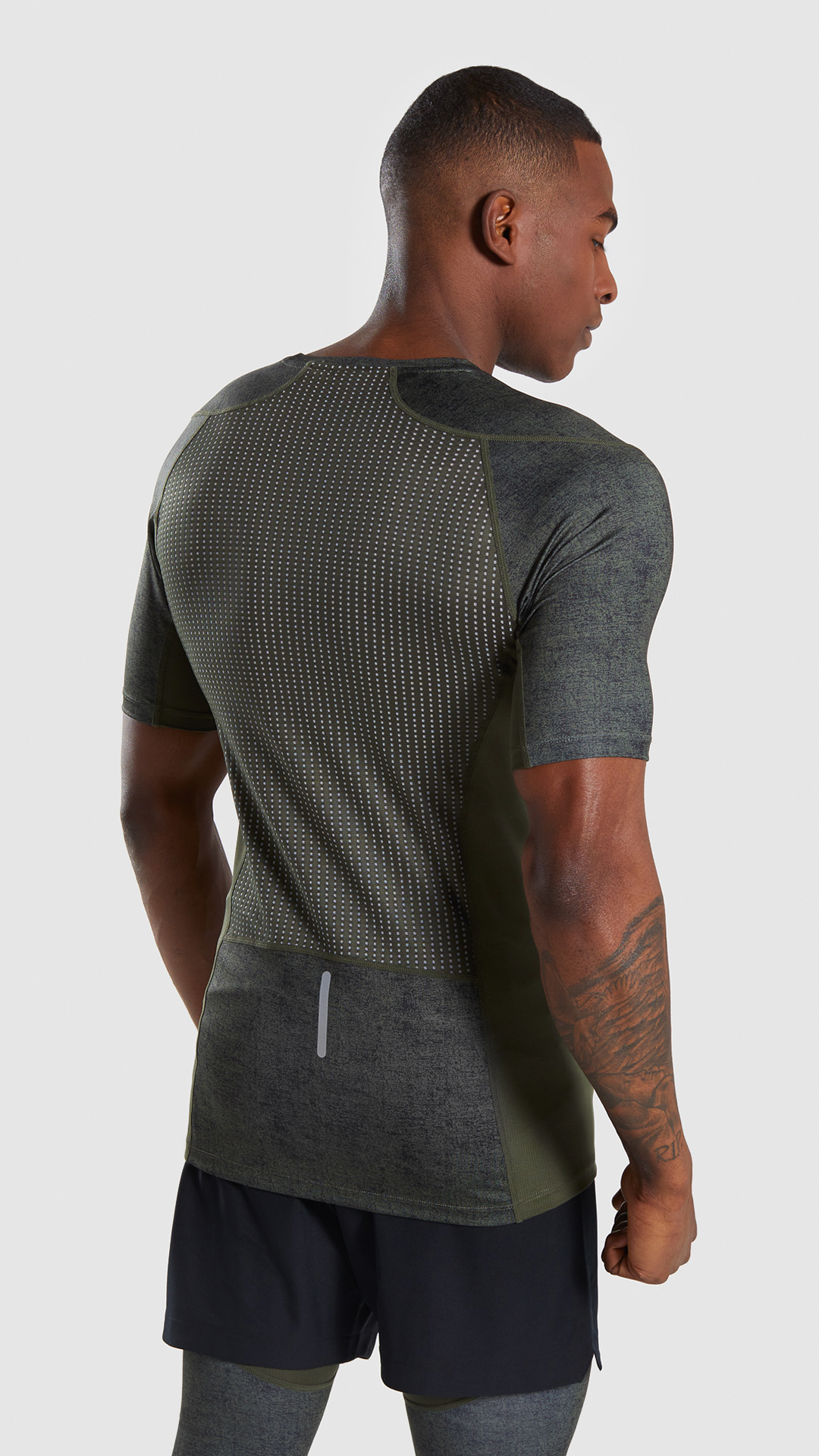 e6850b1b The Hybrid Base Layer Short Sleeve T-shirt, Woodland Green. Join forces.