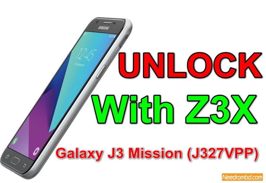 Galaxy J3 Mission(J327VPP) Unlock With Z3X | Smartphone Firmware