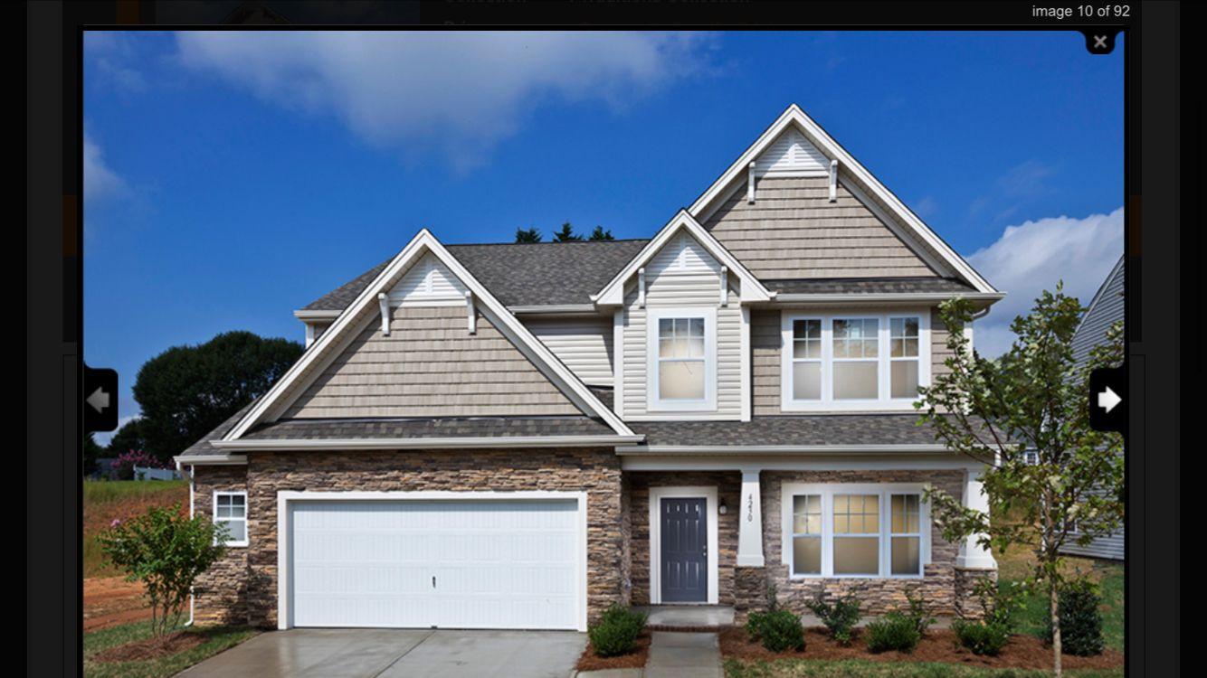 Exterior Colors True Homes New Home Builders House Floor Plans