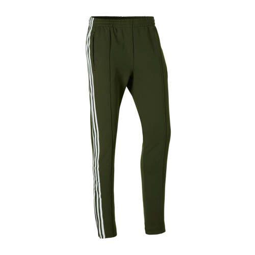 Broek donkergroen   Broeken, Adidas, Adidas originals