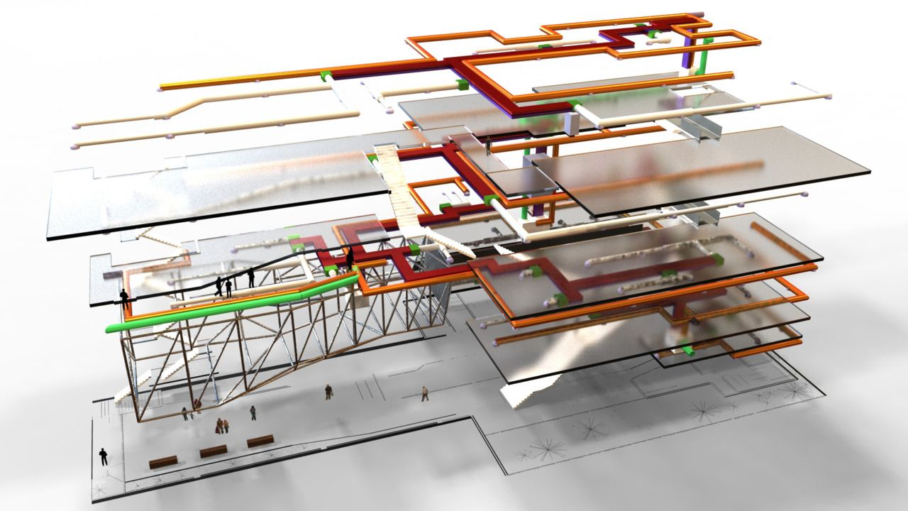 The ARCHive: Sean Verdecia   Architectural Models ...