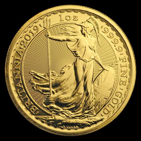 2019 Great Britain 1 Oz Gold Britannia Bu Gold Coins Buy Gold Silver Coins