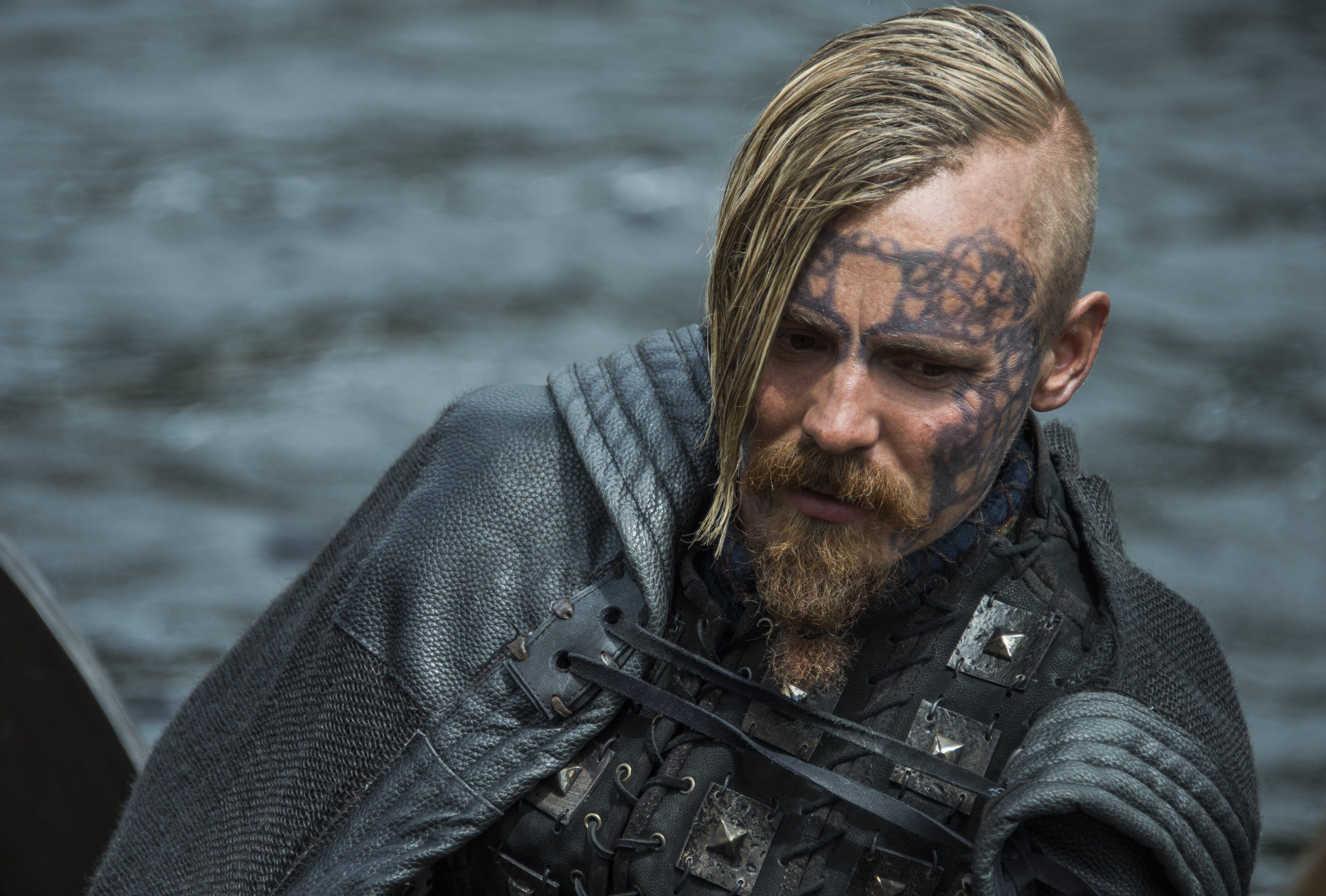 vikings - halfdan the black | Hairstyles | Wikinger, Vikings ...