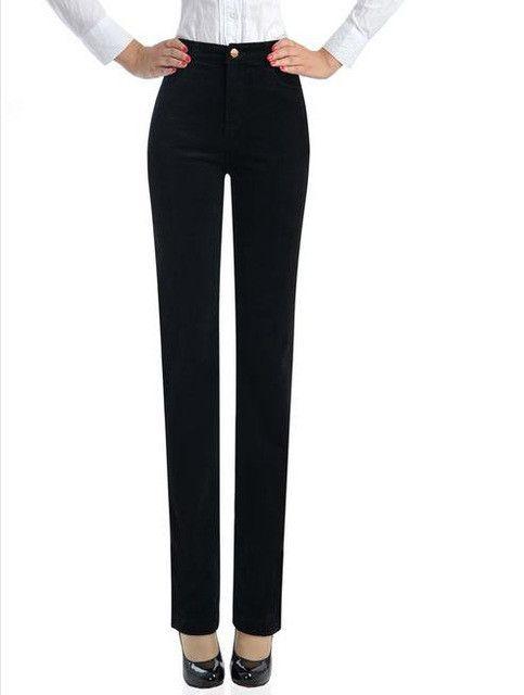 Hot Sale autumn and winter straight jwomen pants velvet trousers plus size 7xl Corduroy elastic waist women pants