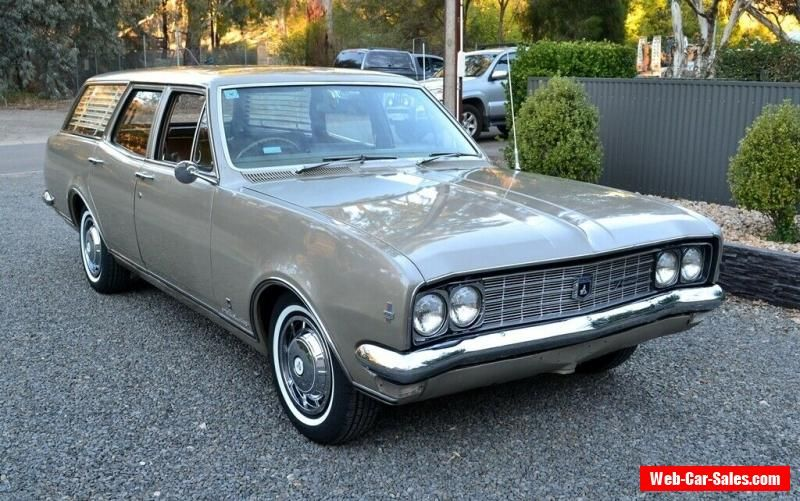 Car For Sale Holden Ht Premier Station Wagon Matching Numbers