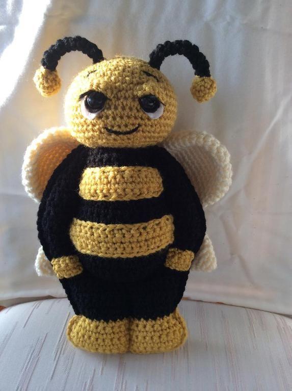 Feebee The Bumble Bee Crochet Animals Dolls Toys Pinterest