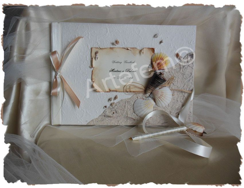 wedding guestbook , for info send email to artefem@email.it   or visit my profile on FB