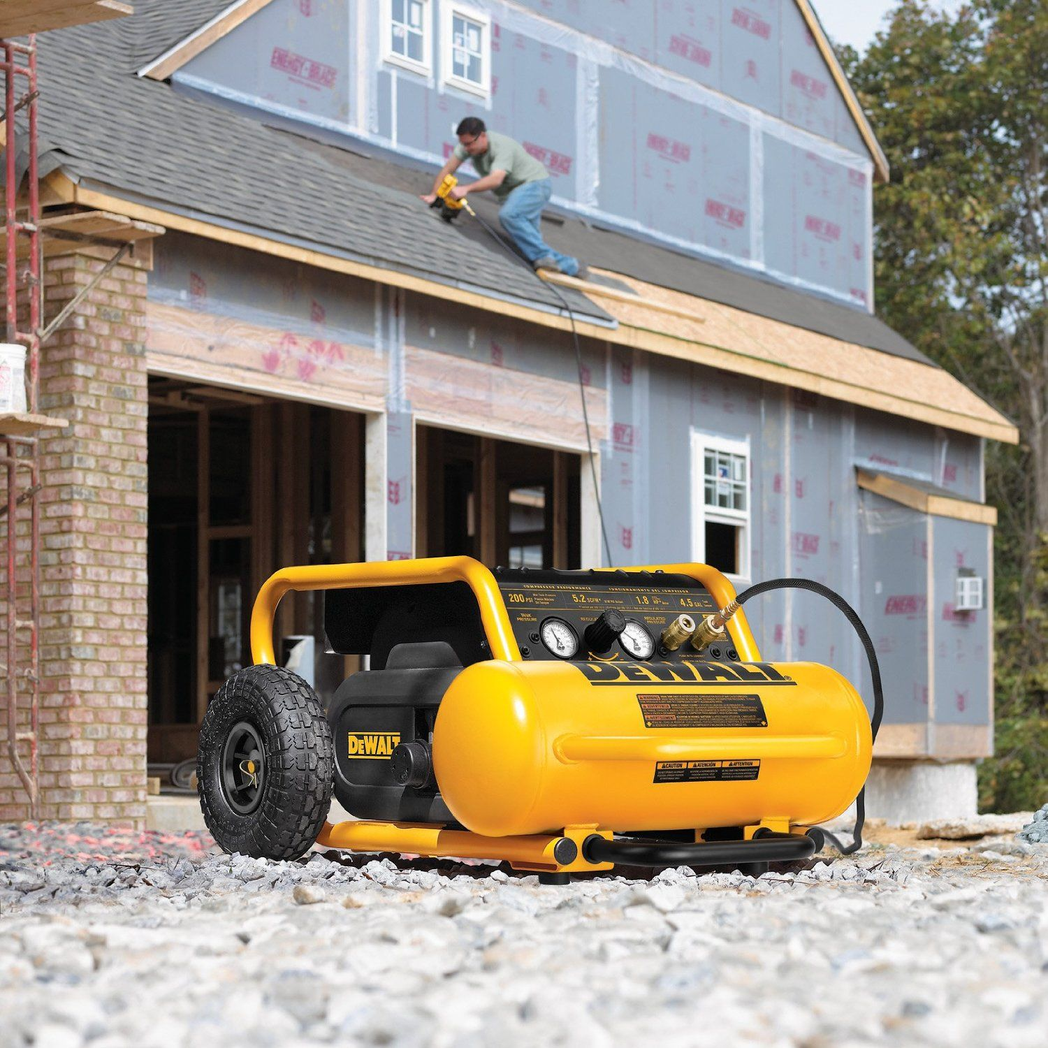 Shopping for an air compressor for home renovations or DIY