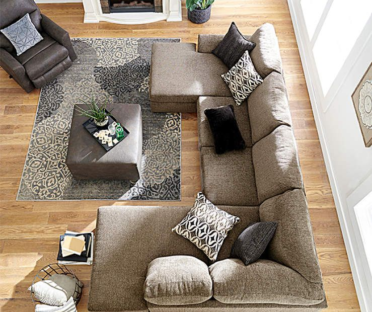 Best Lane Passage Mocha Living Room Collection At Big Lots 400 x 300