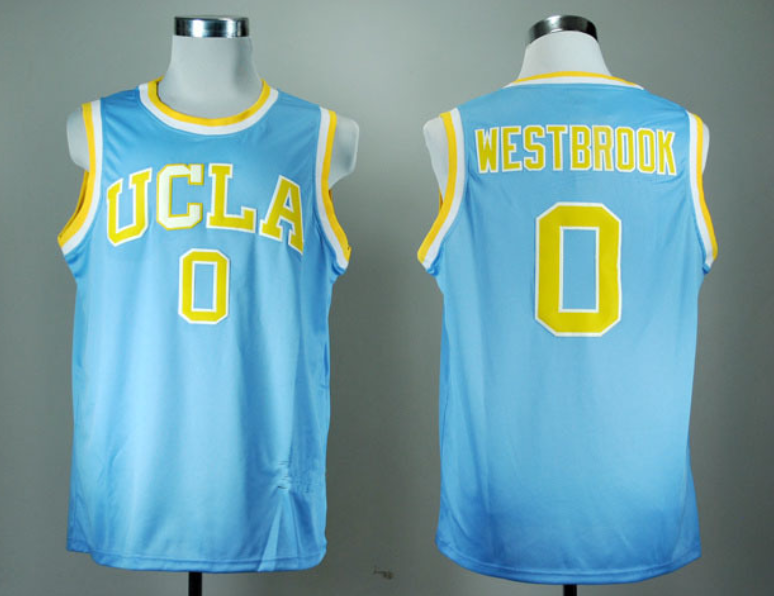 promo code 752fb e440d UCLA Bruins #0 Russell Westbrook Throwback Jersey | Claytons ...