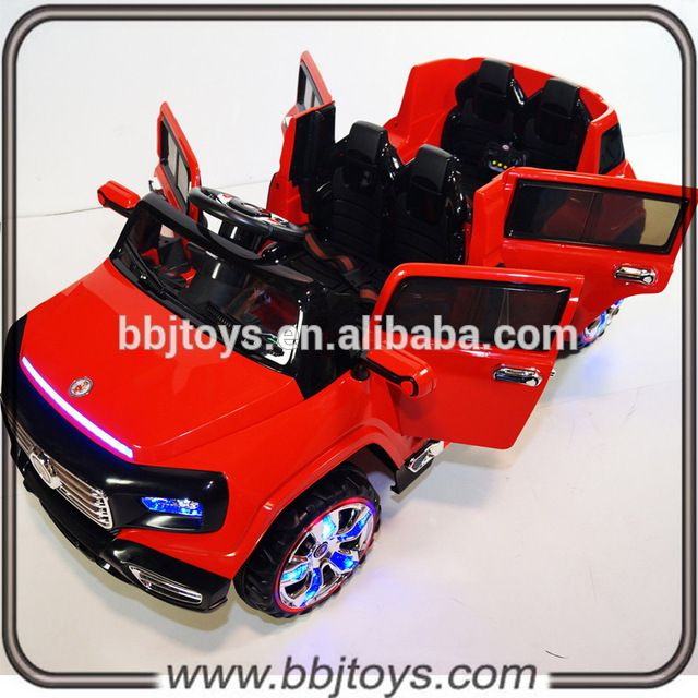 Electric Kids Cars >> Source 4 Seater Kids Electric Car With Remote Control