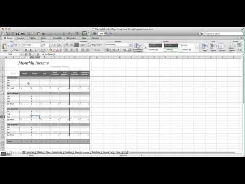 Accounting Spreadsheet Tutorial  Tips Accounting Spreadsheet for