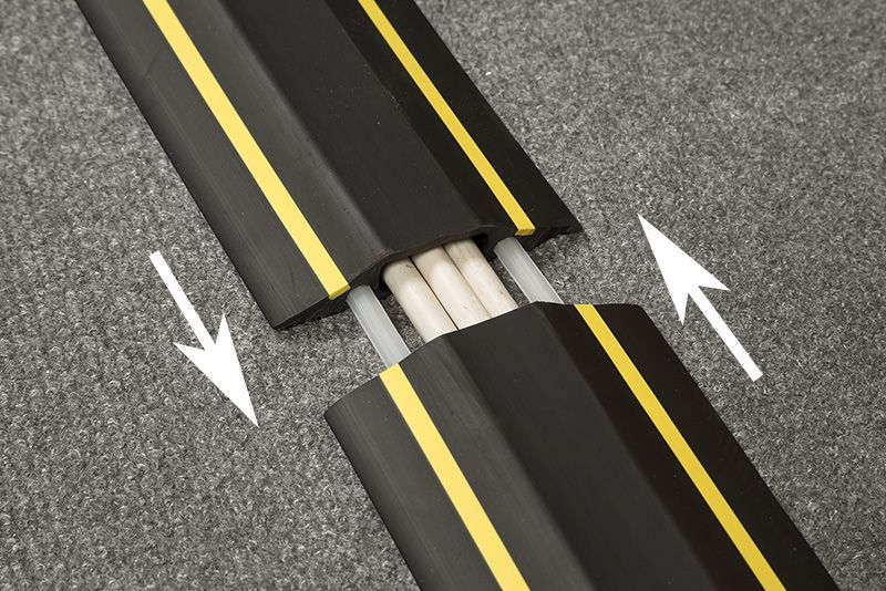 Linkable Floor Cable Cover