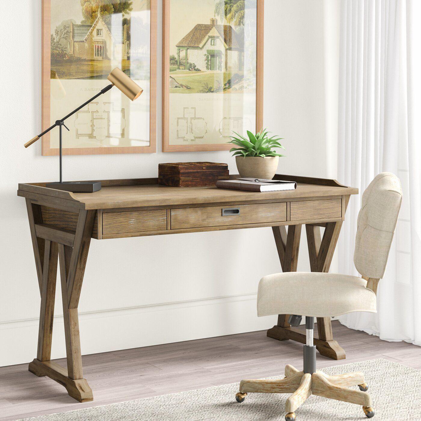 Hutto Lift Top Desk Desk Wood Writing Desk Solid Wood Desk