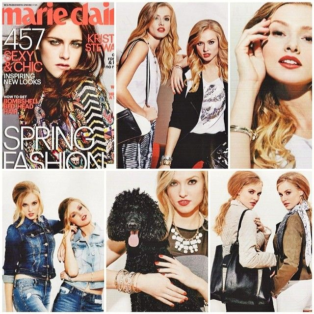 #kensie as seen in Marie Claire magazine, March 2014