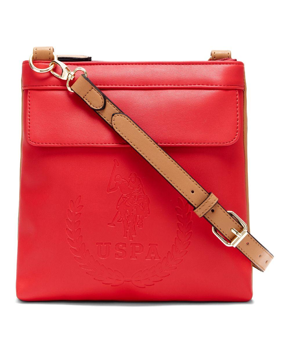 U.S. Polo Assn. Red Billy Crossbody Bag c4c54a57db832