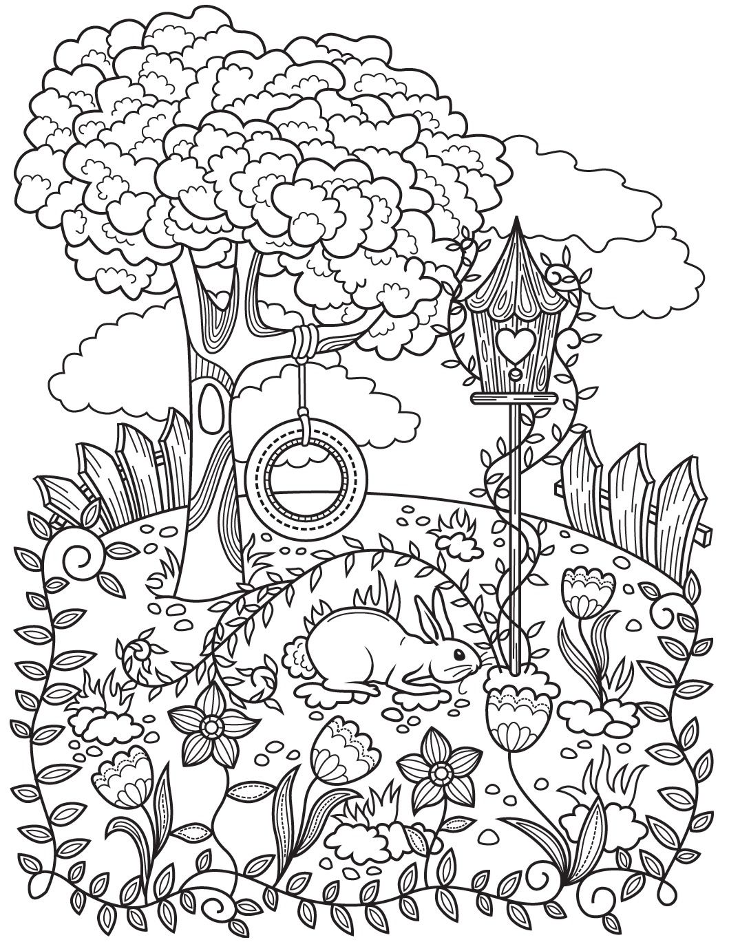 Gardens   Colorish: coloring book app for adults mandala relax by ...