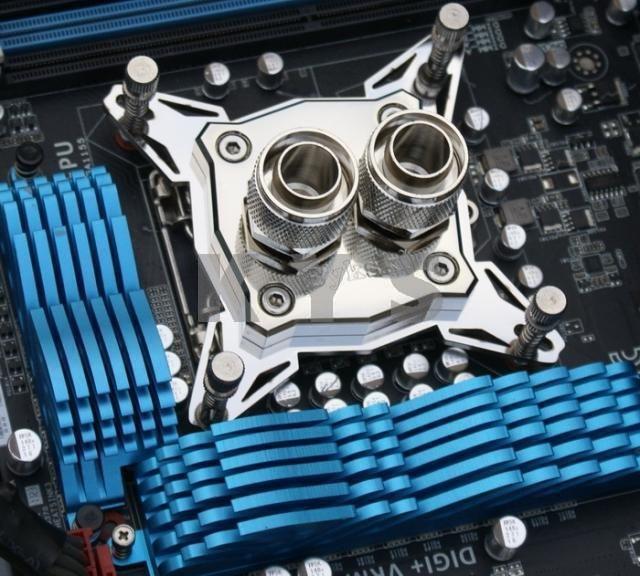 Bykski Xph B Full Metal Cpu Water Cooling Copper Block For Intel