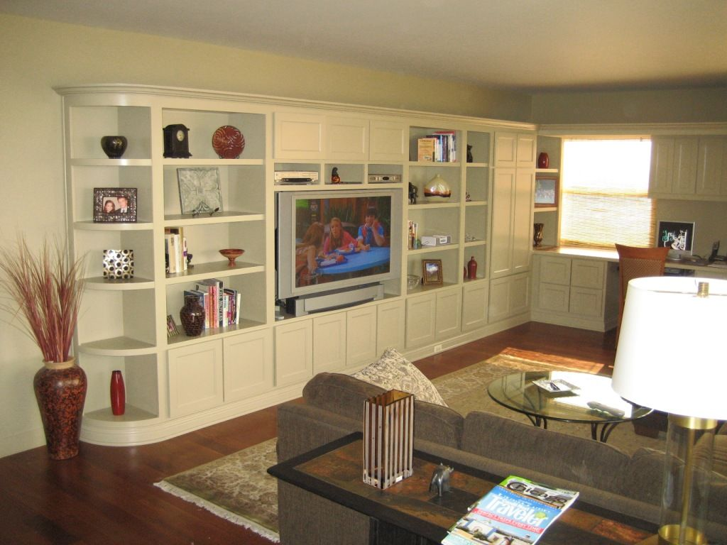 built in entertainment center plans for flat screen tvs - Built In Entertainment Center Design Ideas