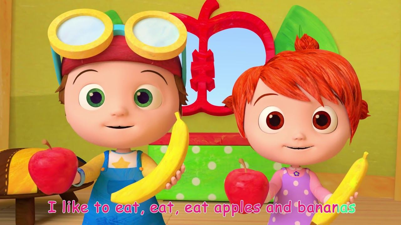 Apples and Bananas Song ABCkidTV Songs for Children
