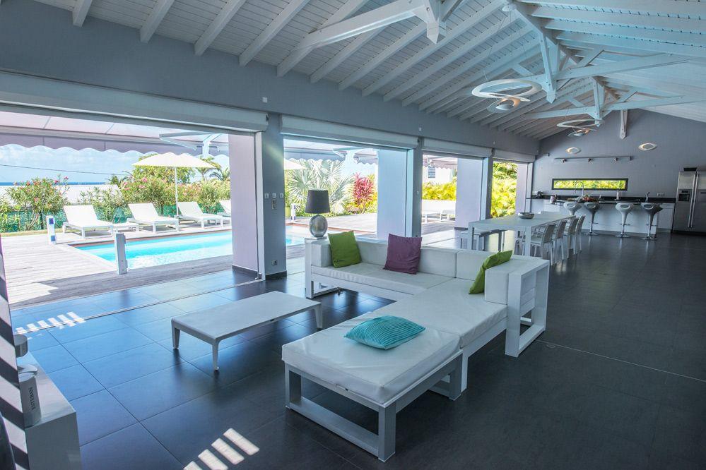 Location de villa de luxe en guadeloupe piscine saint françois