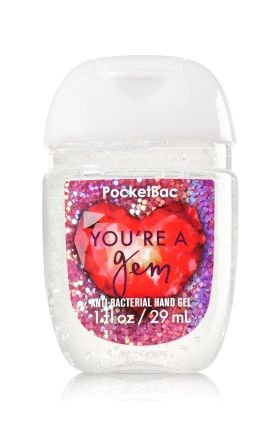 You Re A Gem Pocketbac Sanitizing Hand Gel Bath Body Works