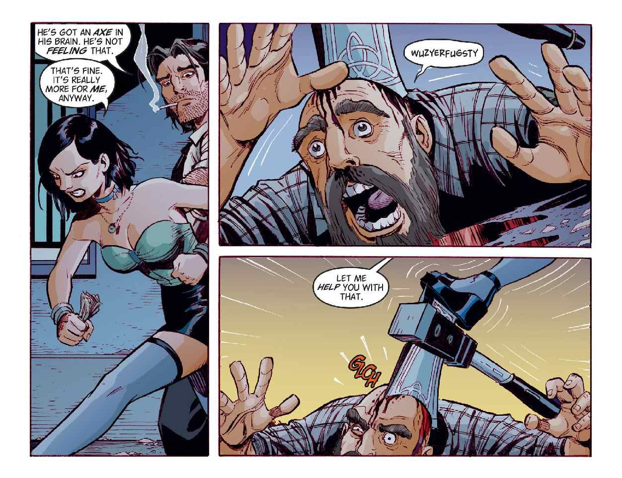 Read Comics Online Free Fables The Wolf Among Us Chapter 002 Page 12 The Wolf Among Us Comics Fables Comic
