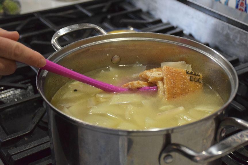 Parmesan Broth Parmesan Parmesan Rind Broth