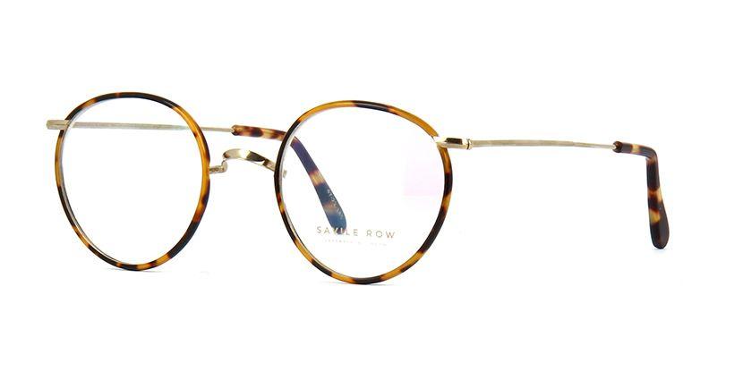 becd7b8ed465 Savile Row 18kt Windsor Gold and Tortoise Gold and Tortoise Glasses ...