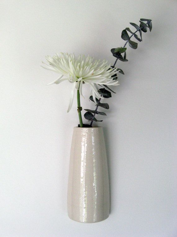 Ceramic Wall Vase By Tlcclayworks On Etsy 1800 For The Home
