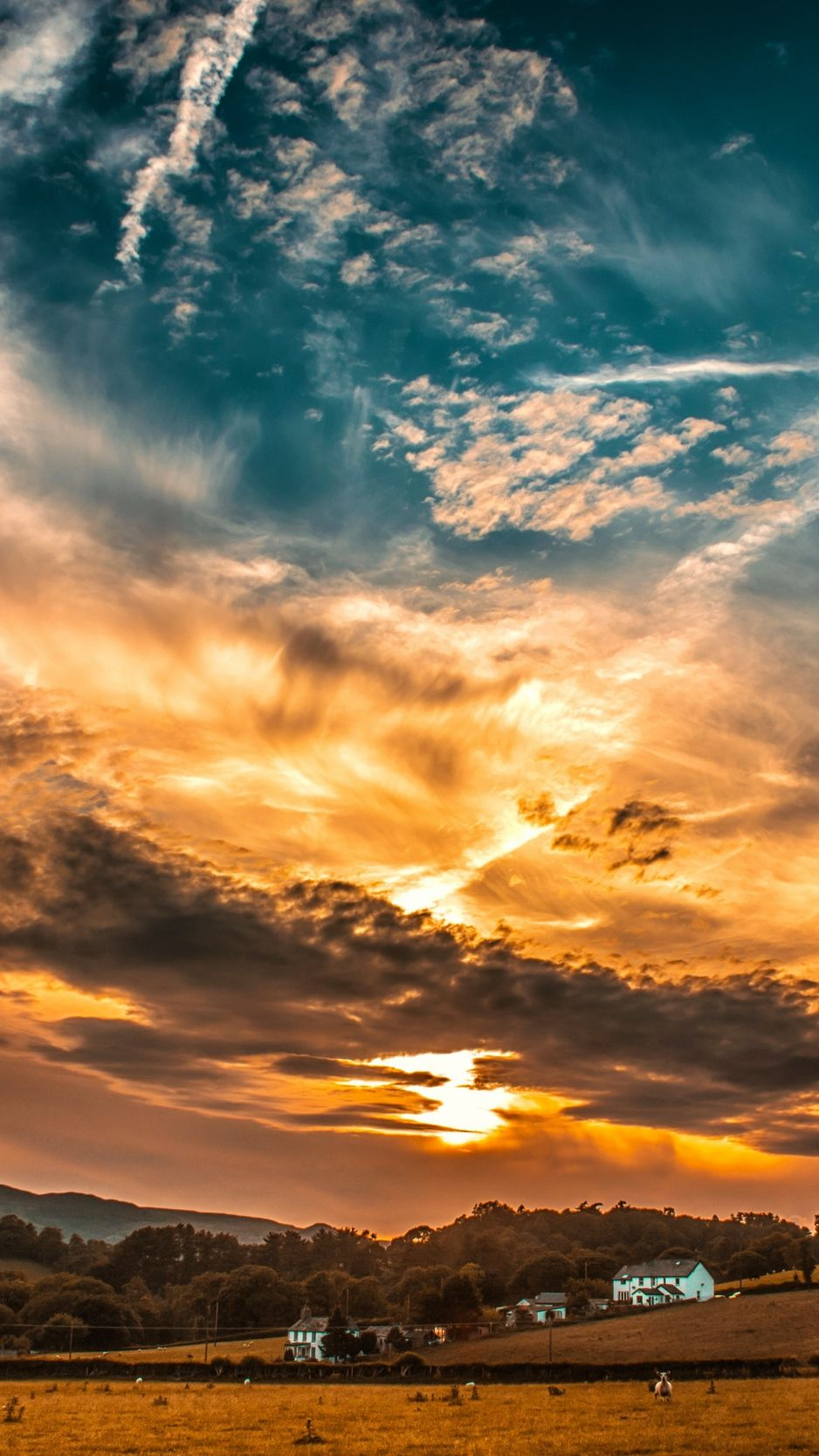 The Most Beautiful Sunsets In The World Backgrounds Cool Part 3 Sunset Wallpaper Sunset Sky Sky And Clouds