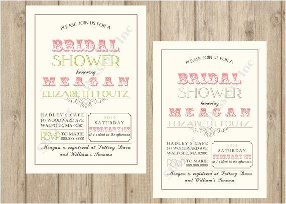 Bridal Shower Invitation  Bridal Shower by SharingAPassionINC, $12.25