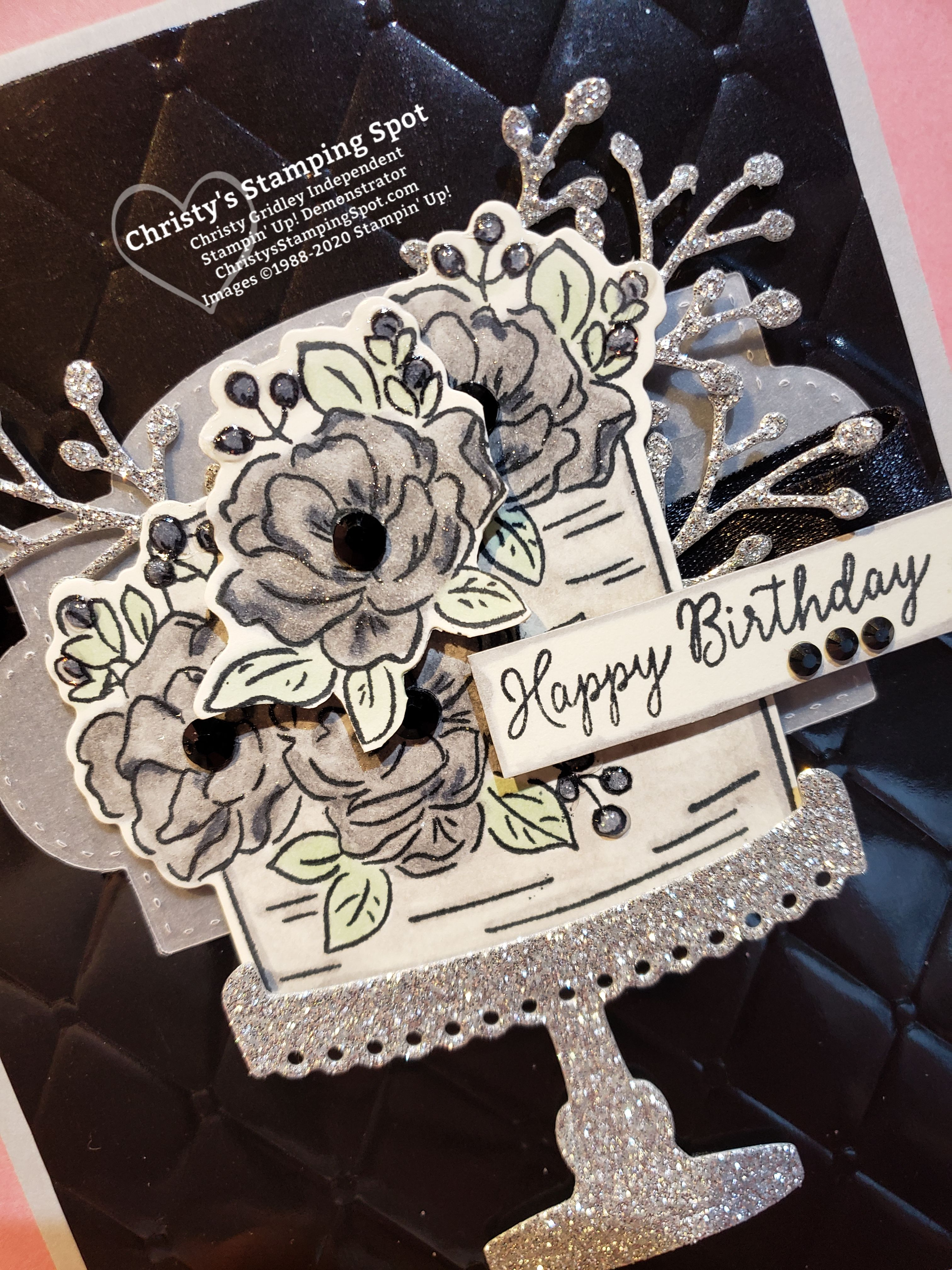 Touch Of Gothic Birthday Card Happy Birthday Daughter Birthday Wishes For Daughter Happy Birthday
