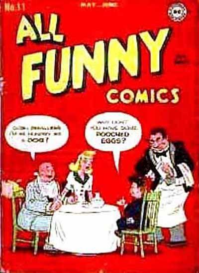 All Funny Comics #11