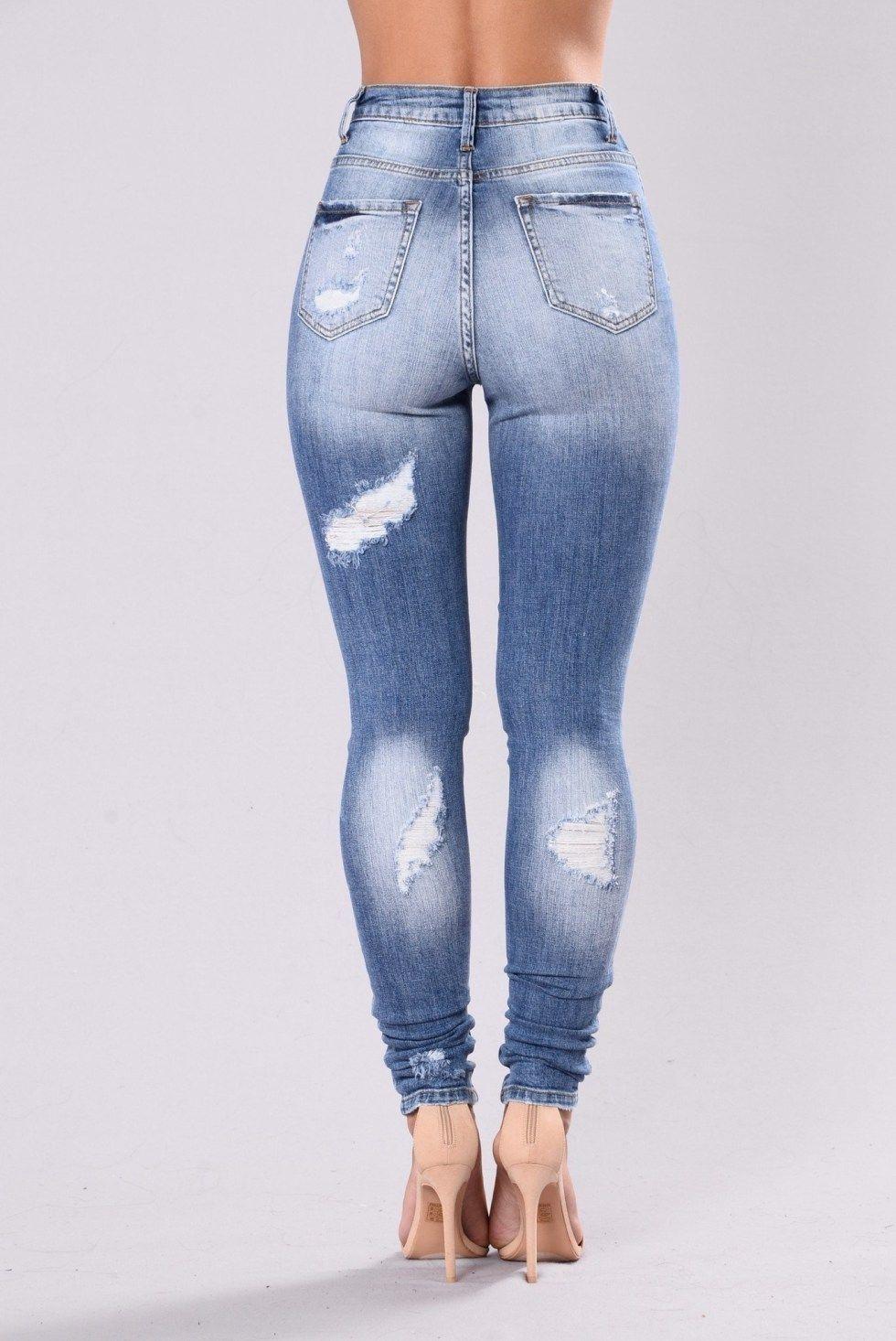 827c430ff4f Pantalones Jeans Levanta Cola Nuevo Estilo 2018