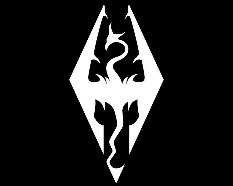 Skyrim Symbol Ilustracoes Tatuagem Lendas