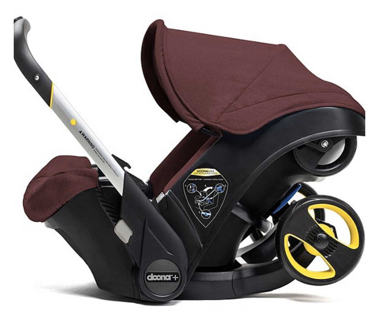 Doona From Car Seat To Stroller In Seconds Burgundy