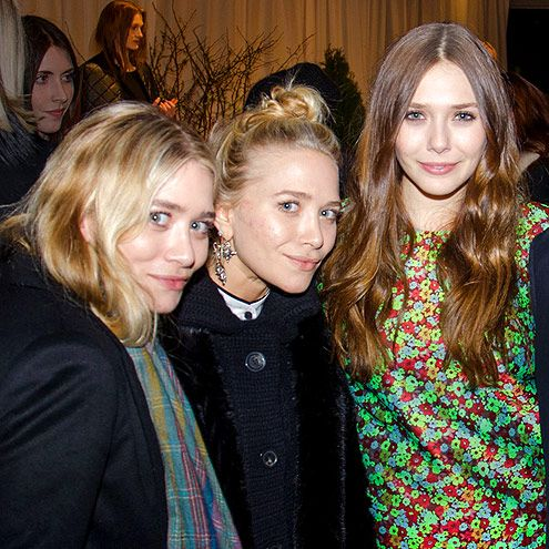 Mary Kate And Ashley Olsen Make Rare Appearance With Elizabeth Mary Kate Ashley Ashley Olsen Mary Kate