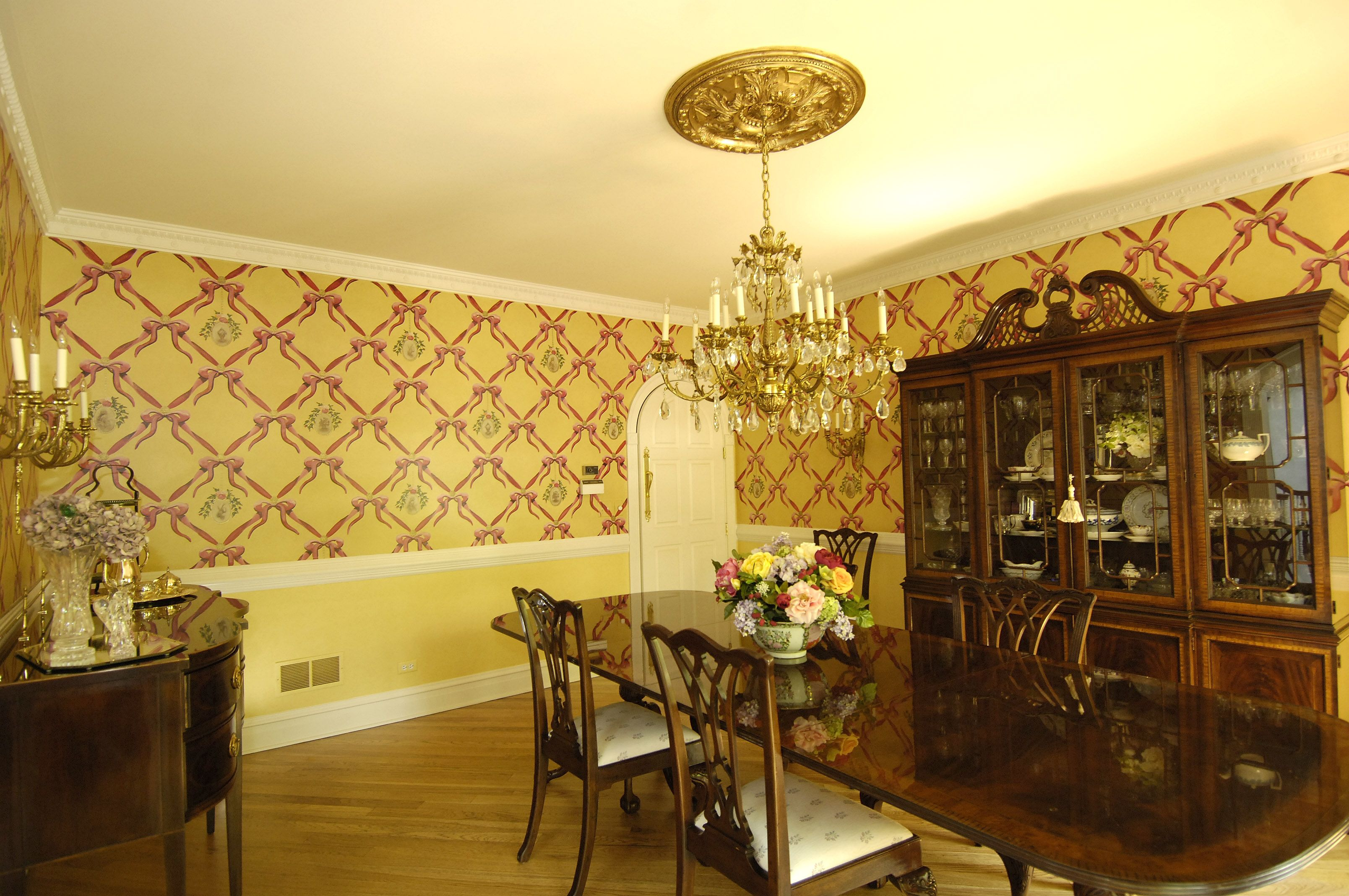 Absolutely stunning Faux Wallcovering - meaning these walls have ...