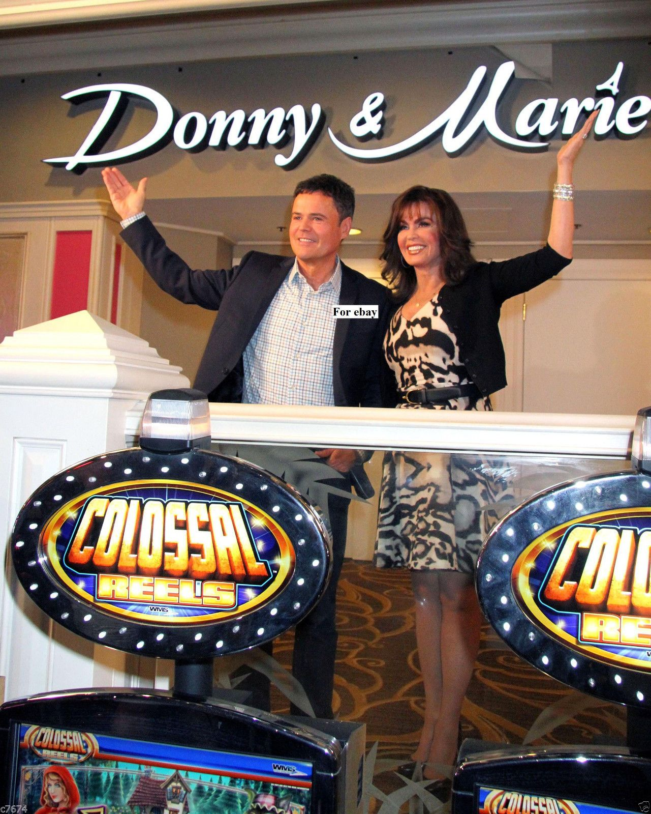 Donny And Marie Osmond Celebrate Renaming Showroom At Flamingo Las