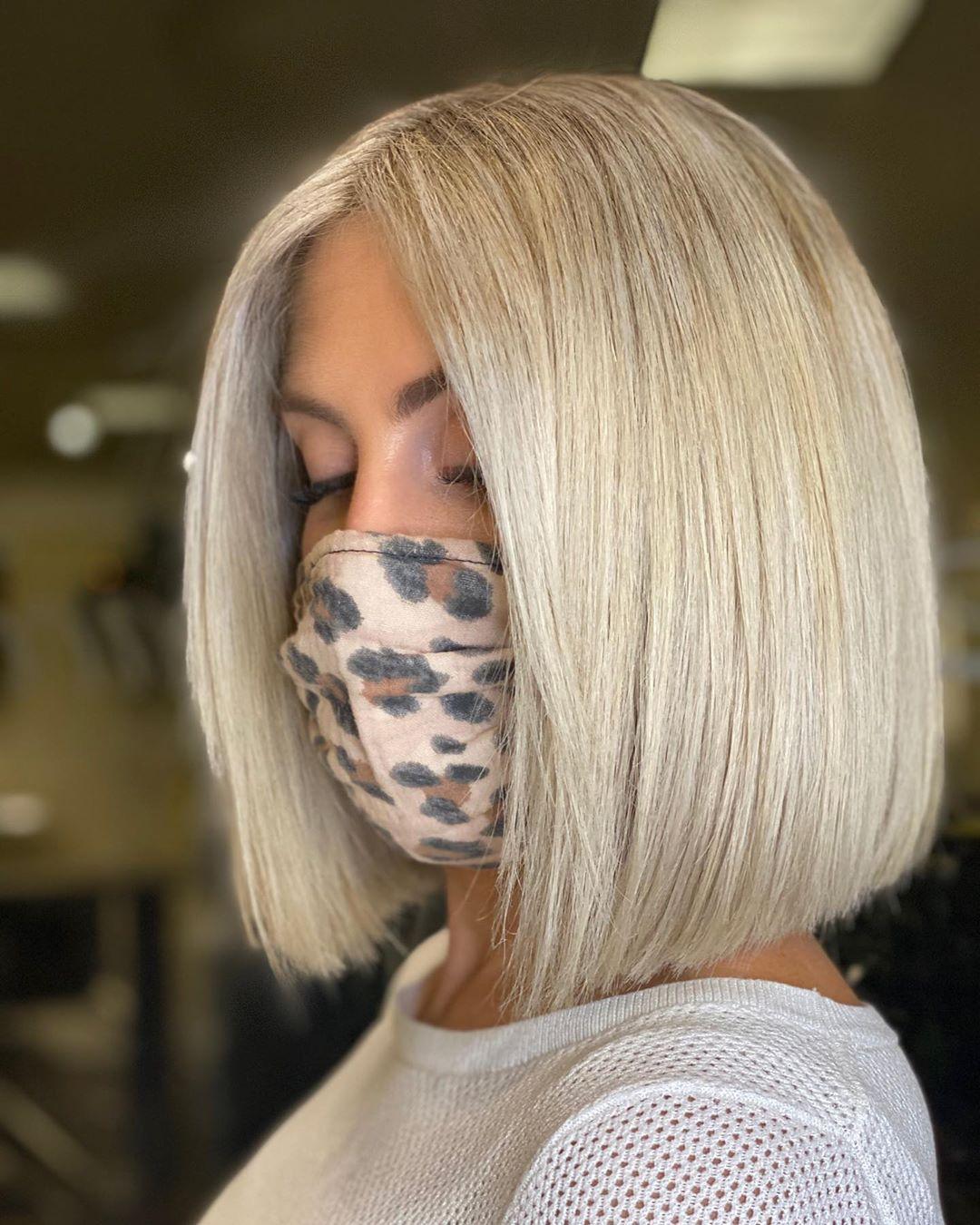 30 Fall Inspired Bob Haircuts - October 2020