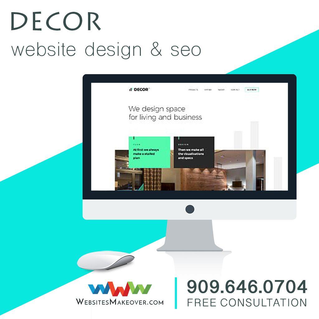 Decor Website Design Unlimited Revisions Upland Ca Decorwebsitedesign Websitedesign Webdesign Ran Portfolio Website Design Portfolio Web Design Design