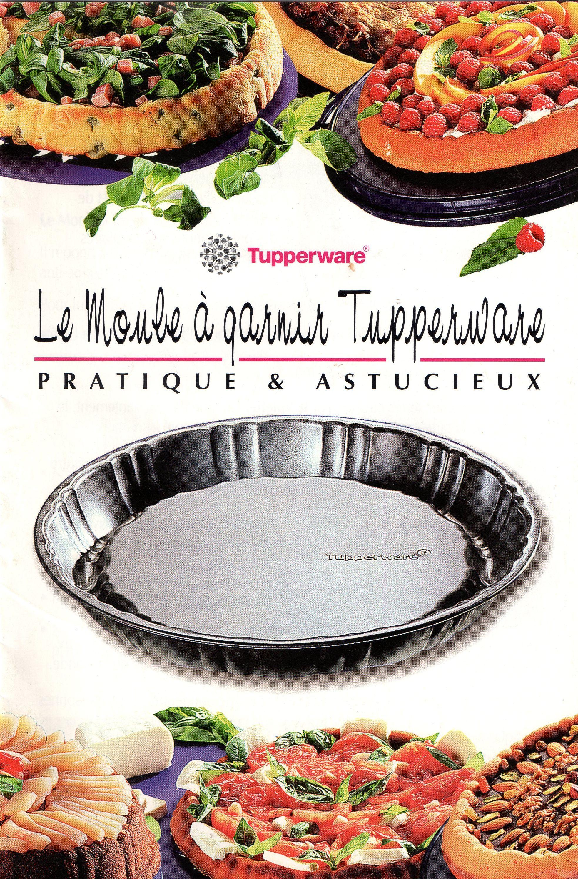 le moule a garnir tupperware recettes