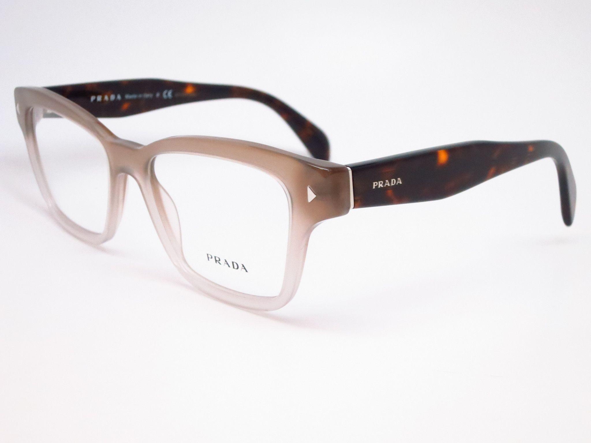9bfbb3e67b7b Prada VPR 10S UBJ-1O1 Grey Gradient Eyeglasses | A girl must have ...
