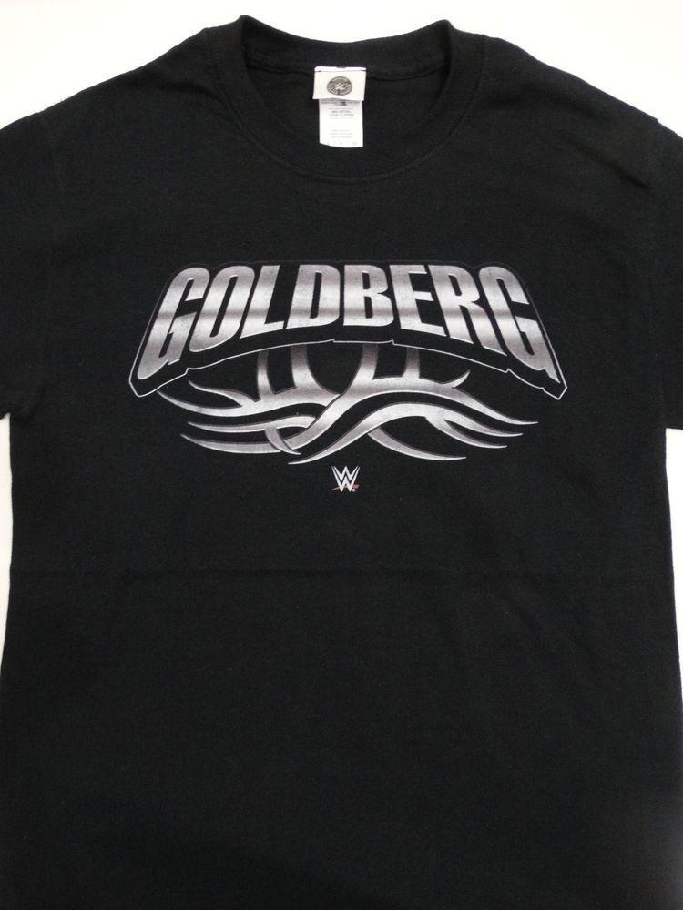 f193d76d1 Details about WWE Bill Goldberg Tribal Art Logo Wrestling T-Shirt ...