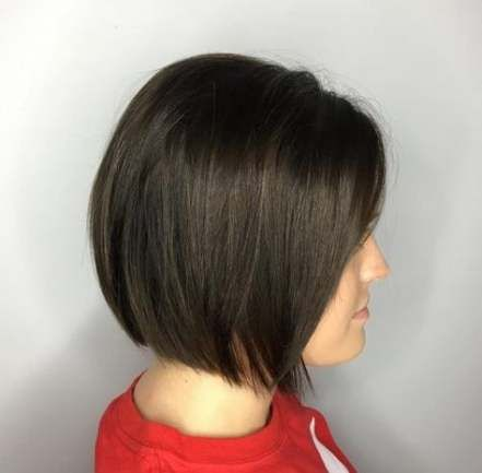 31 ideas haircut for round face shape short neck for 2019