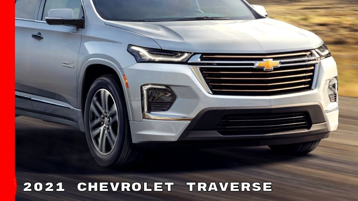 The Cabin Of The New 2021 Chevrolet Traverse Is Quiet And Modern