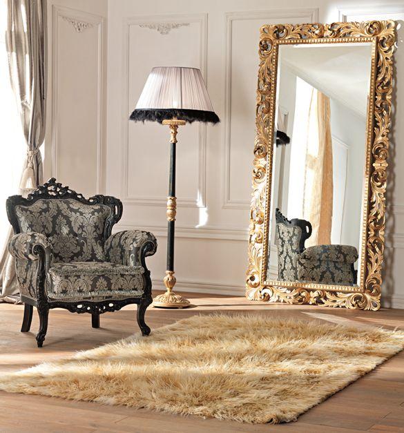 large floor mirrors | Paris collection large ornate floor mirror ...