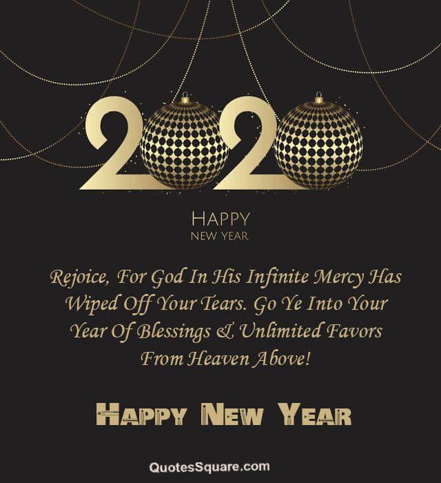 New Year 2020 Short Wishes Hearttouching Elegant   Happy ...