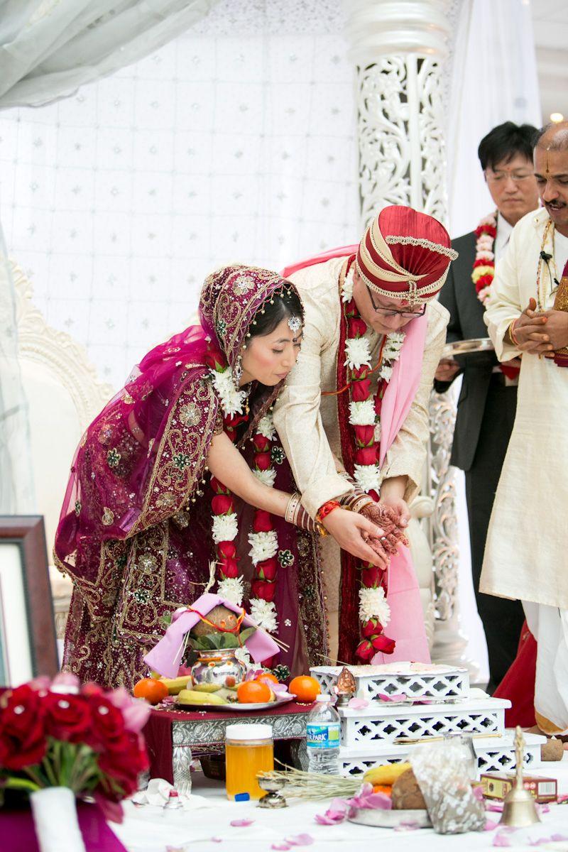 Eun Ju Shawn S Gorgeous Indian Korean Wedding Part I